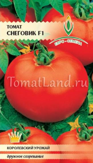 Описание и характеристики томата Снеговик f1