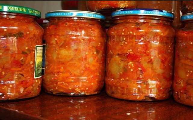 Рецепты лечо из кабачков на зиму