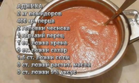 Рецепт аджики заманихи на зиму пальчики оближешь