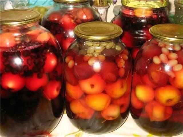 Пошаговый рецепт приготовления компота из ягод на зиму