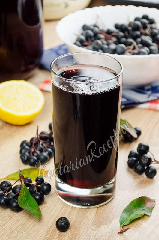 Рецепты черноплодной рябины на все случаи жизни