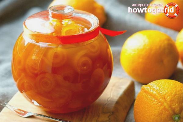 19 рецептов варенья из апельсинов