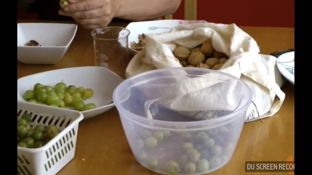 Невероятно вкусное варенье из крыжовника 6 рецептов от классики до эксклюзива