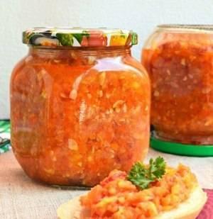 Аджика с яблоками и морковью на зиму жгучая