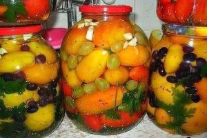 Приправы из овощей на зиму, рецепты