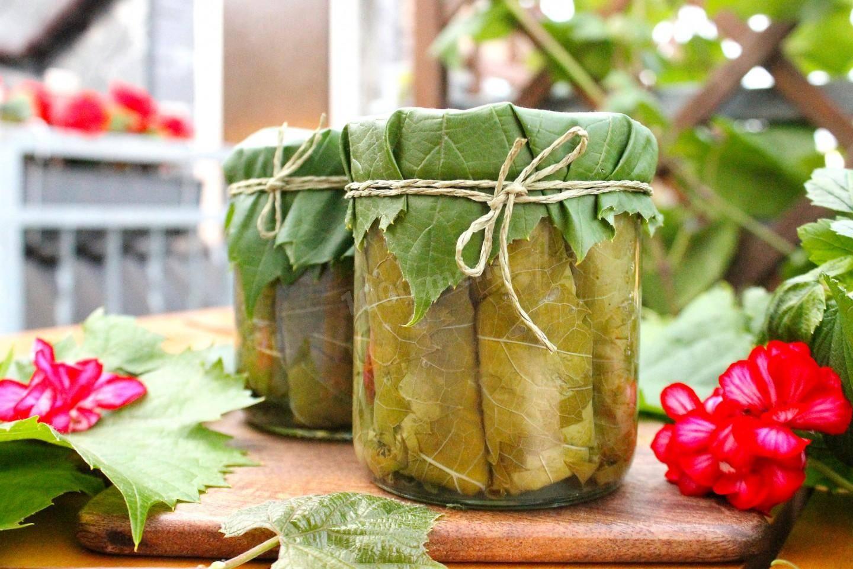 Дома из сухих виноградных листьях рецепт. армянская долма – рецепт в мультиварке. выбираем виноградные листья.