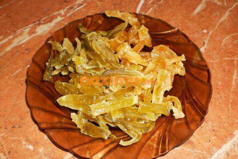 Цукаты из апельсиновых корок — быстрые рецепты в домашних условиях