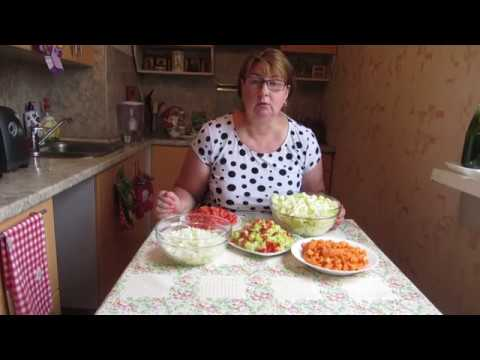 Овощное рагу на зиму а-ля лечо
