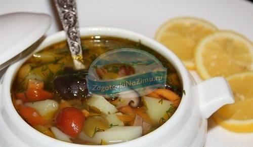 Солянка с капустой на зиму в банках - 5 рецептов с фото пошагово