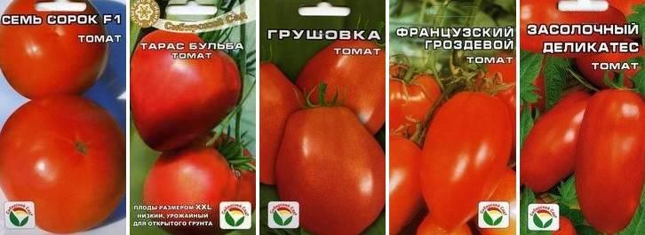 Лучшие сорта томатов для закрытого грунта для урала в теплице