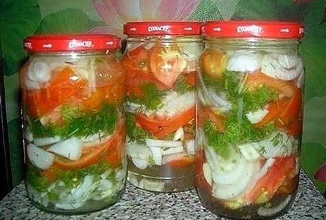 Зимние рецепты заготовок маринованных зеленых помидоров: обожаем всей семьей!