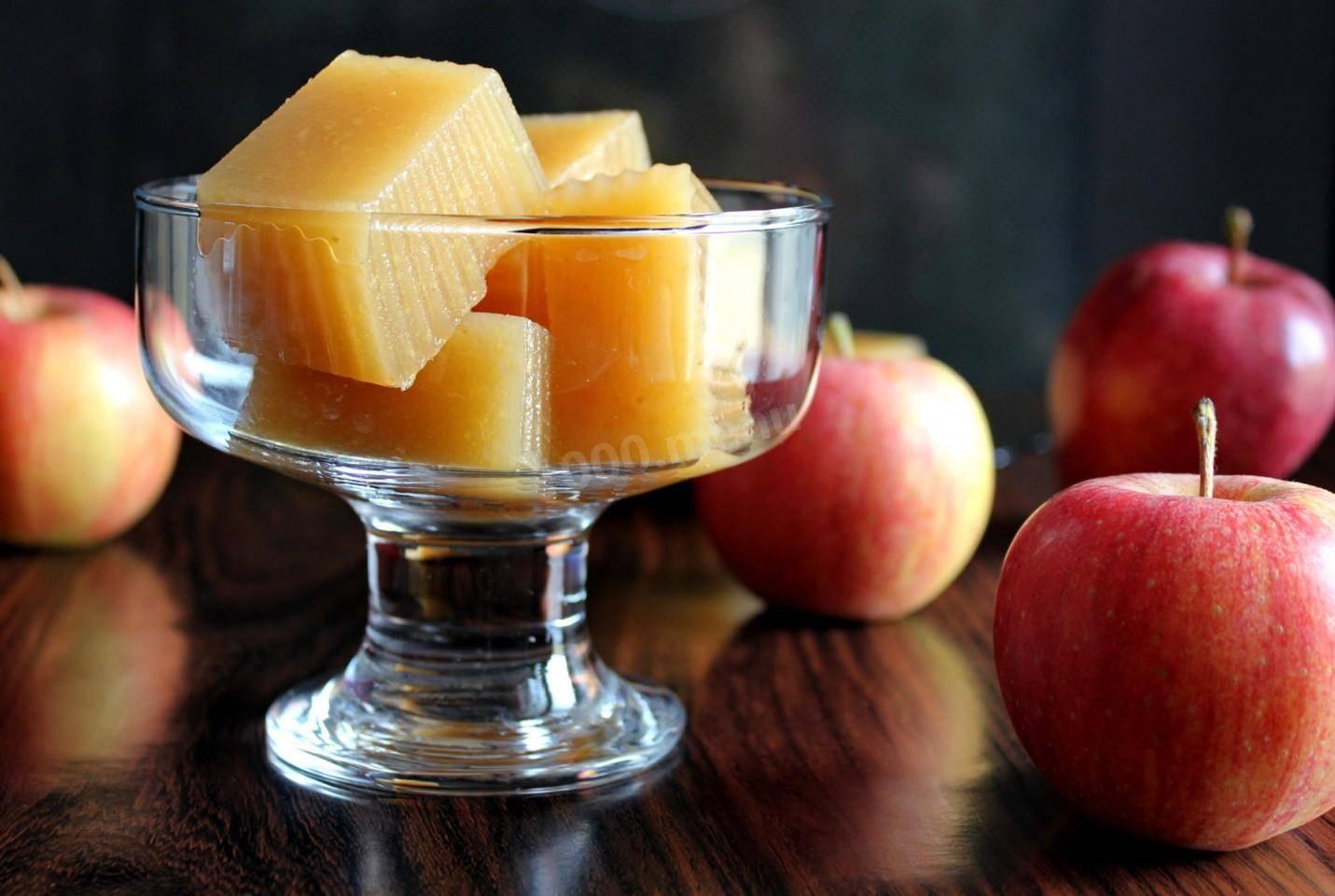 Мармелад домашний из яблок