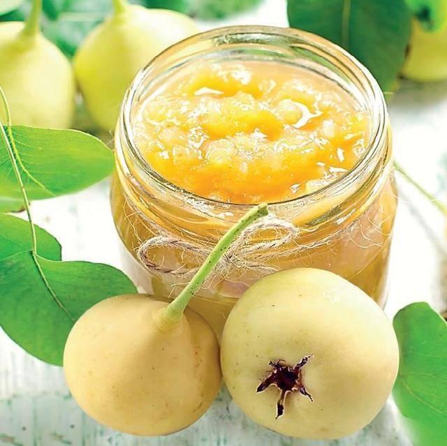 Желе из яблок без желатина