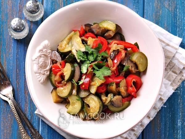 Лучшие рецепты приготовления кабачков с баклажанами на зиму. салат из баклажанов с помидорами и кабачков на зиму