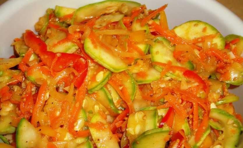 Кабачки по-корейски: 6 самых вкусных рецептов быстрого приготовления