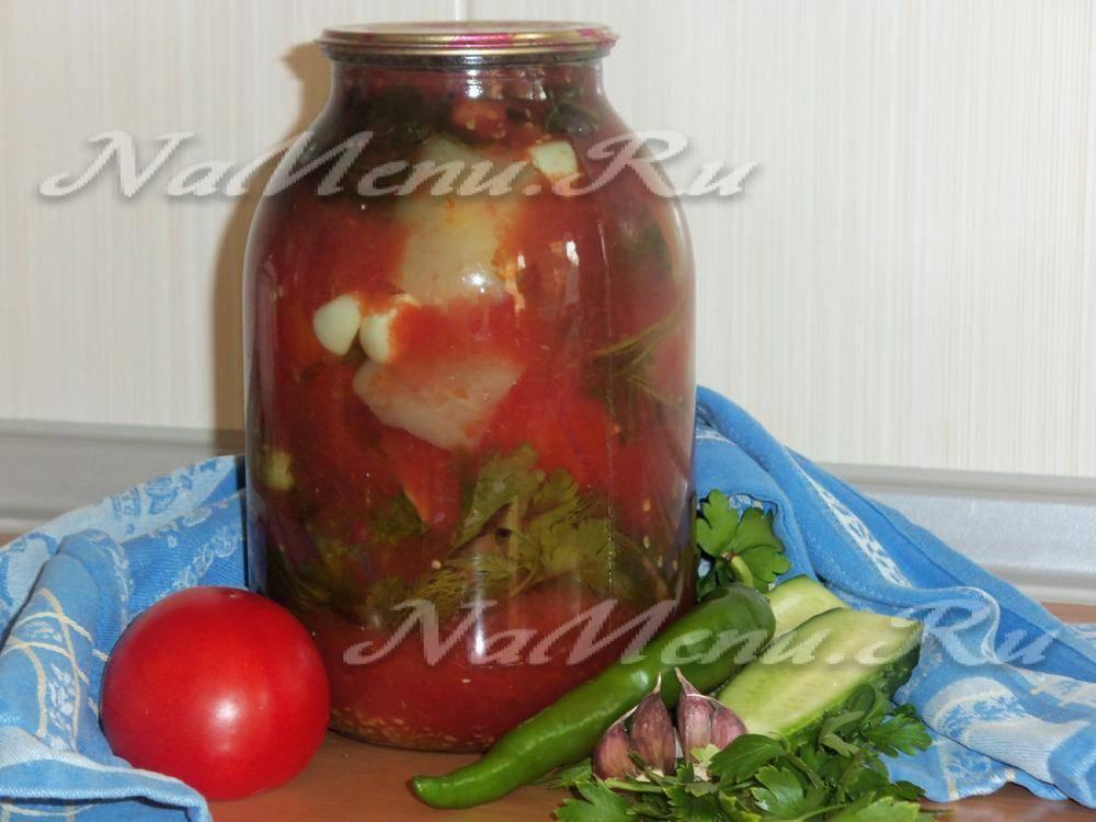 Особенности приготовления томатного сока на зиму