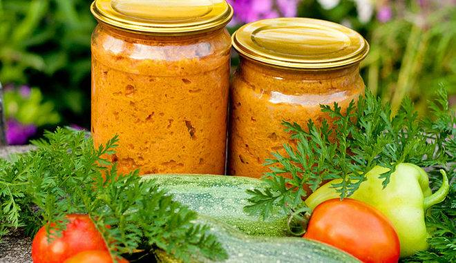 Кабачковая икра: салат на зиму. рецепт, подготовка овощей, порядок приготовления, фото