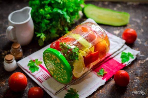 Помидоры с яблоками на зиму – заготовки с пикантным вкусом и ароматом
