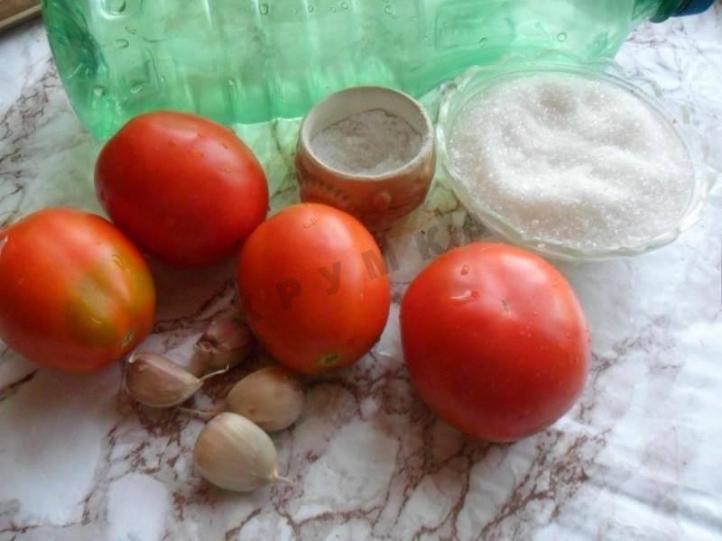 Помидоры под снегом с чесноком на зиму — лучшие рецепты! рецепт консервирования помидоров в снегу с чесноком на зиму