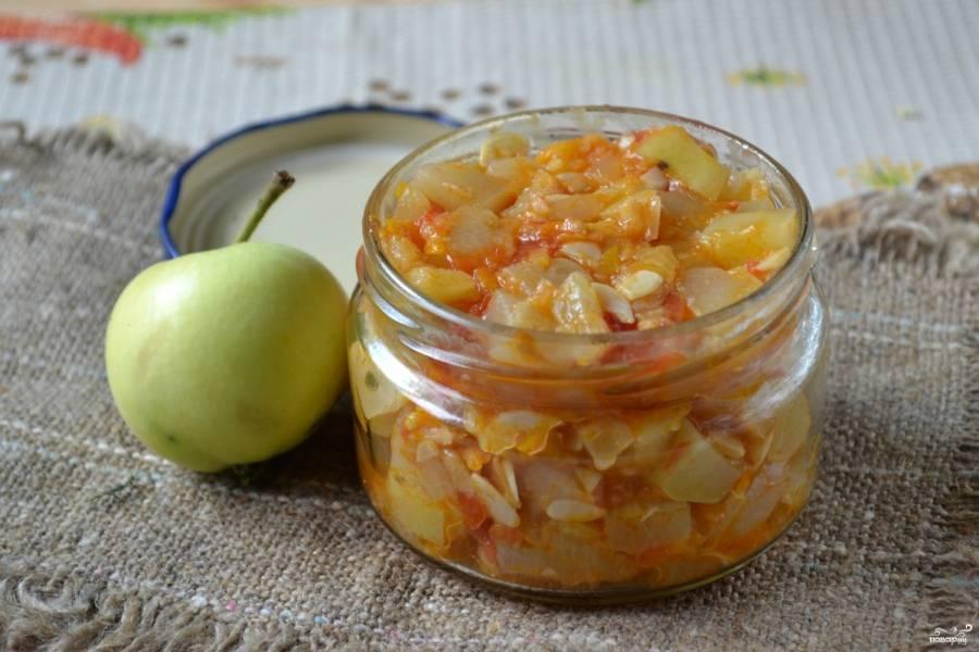7 рецептов приготовления кабачковой икры с яблоками на зиму