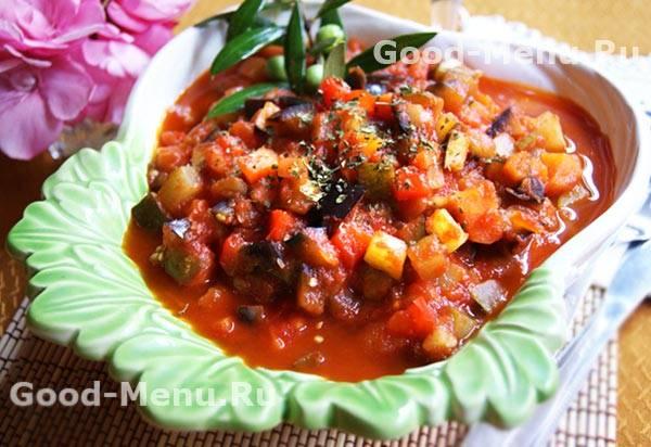 Лучшие рецепты приготовления кабачков с баклажанами на зиму