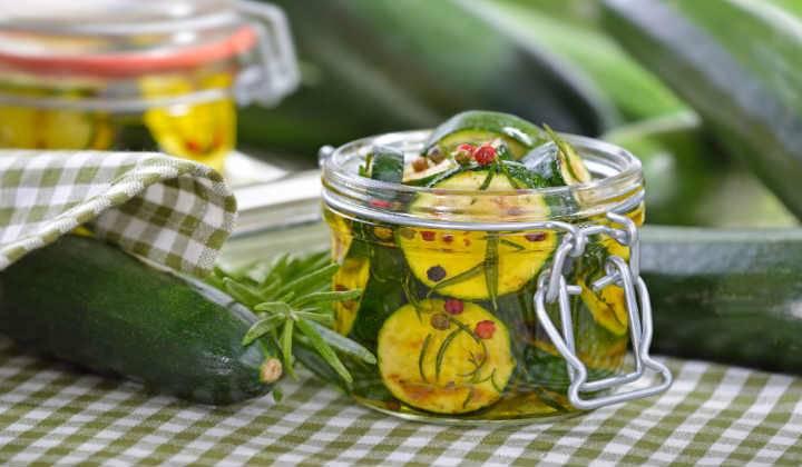 Кабачки на зиму с лимонной кислотой: 3 рецепта маринования, хранение консервации