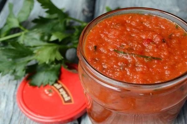 Лютеница или болгарский соус