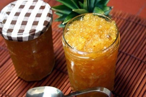 8 простых рецептов приготовления варенья из свежего ананаса