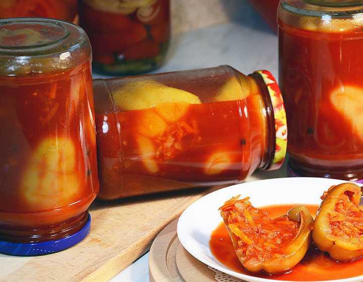 Фаршированные перцы на зиму: овощная заготовка, любимая многими хозяйками