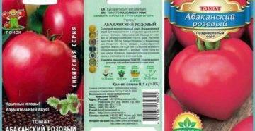 Характеристика и описание сорта томата Абаканский розовый, его урожайность