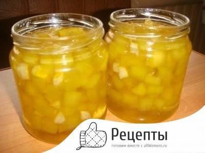 Кабачки на зиму в ананасовом соке - 5 рецептов с фото пошагово