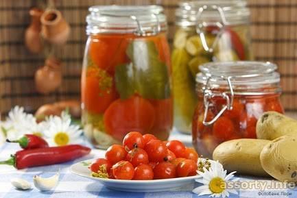 Рецепт маринования помидоров по-польски на зиму
