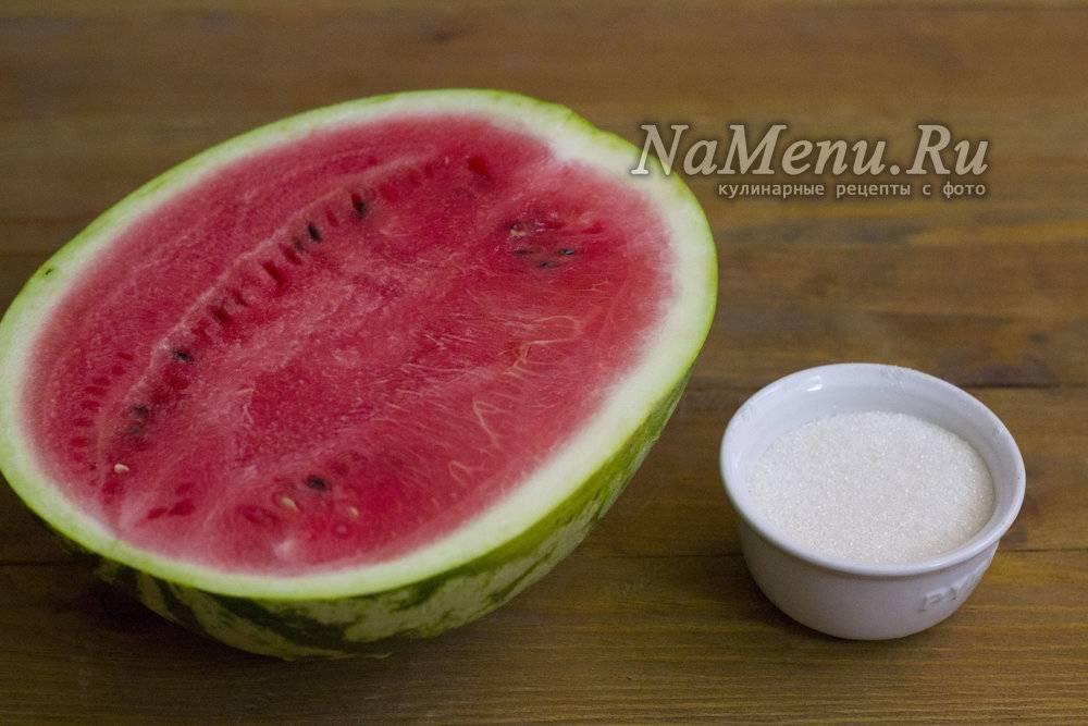 Простой рецепт приготовления компота из арбуза на зиму