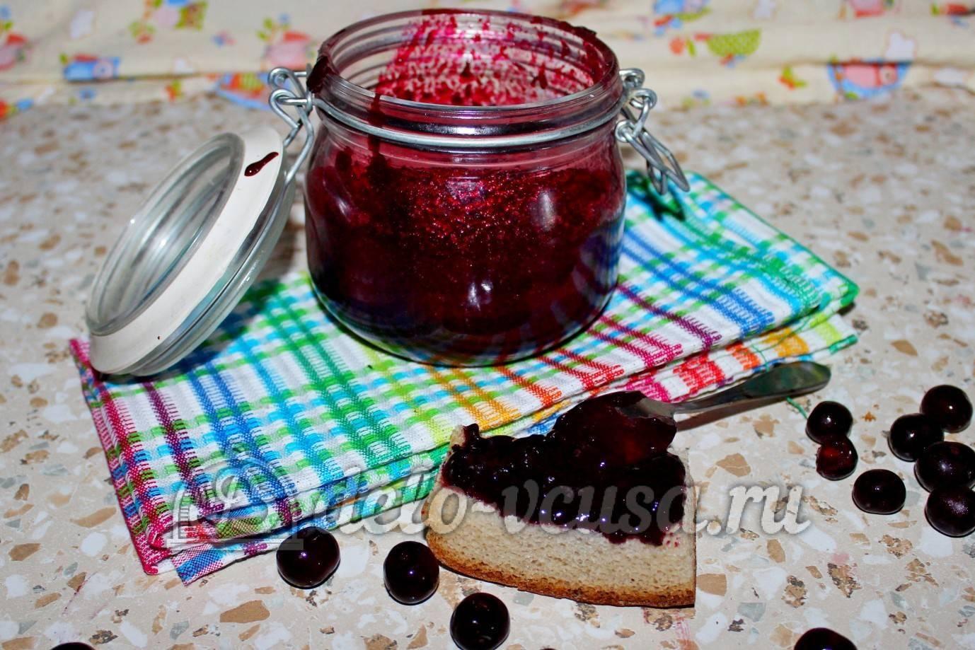 Варенье из вишни без косточек на зиму – рецепты вишневого варенья
