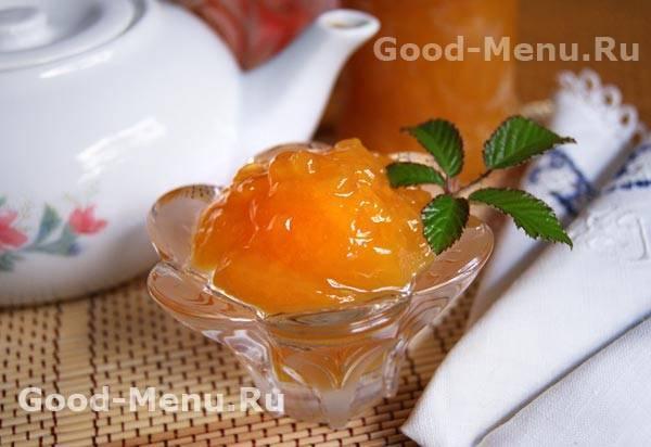 Варенье из персиков пятиминутка на зиму - 5 рецептов с фото пошагово