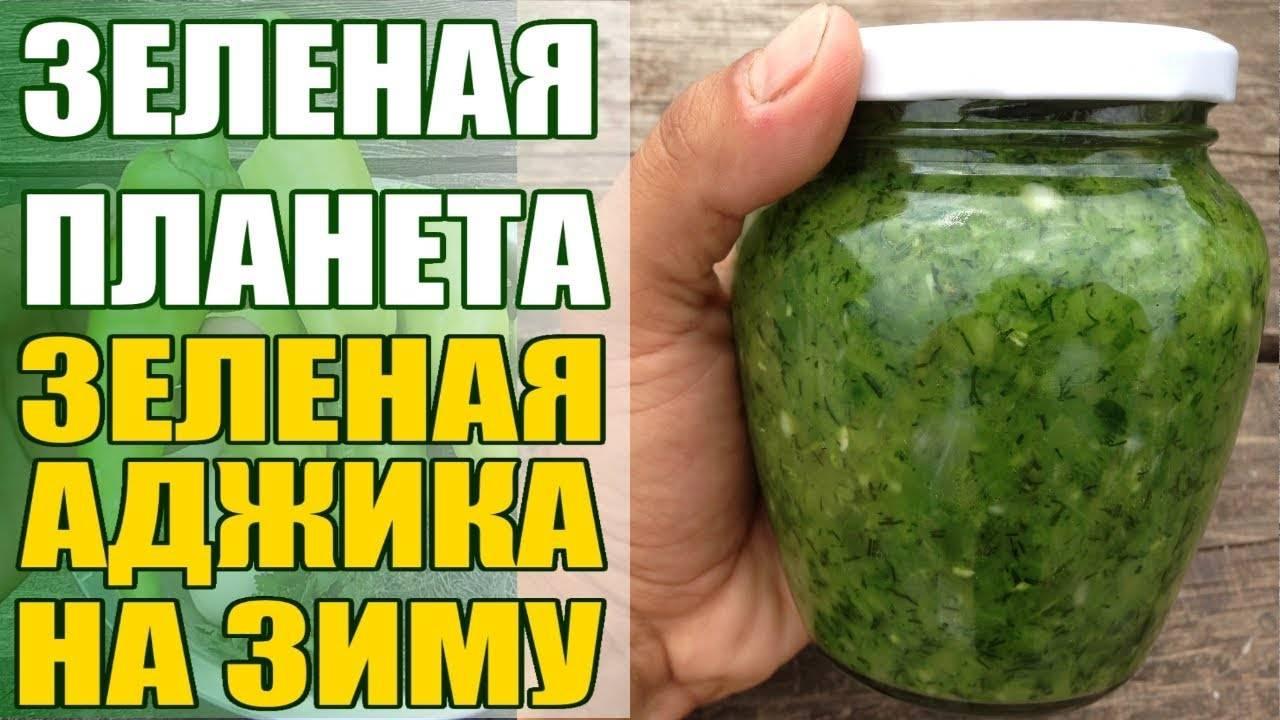 13 лучших рецептов приготовления на зиму зеленой аджики