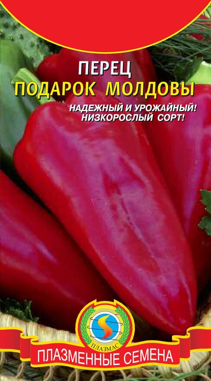 Перец подарок молдовы: описание сорта и уход за растением