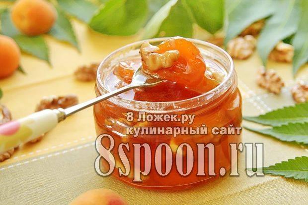 Домашнее варенье из абрикосов: рецепт приготовления с абрикосовыми орешками