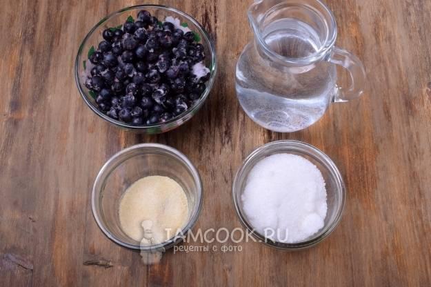 Домашнее молочное желе с желатином