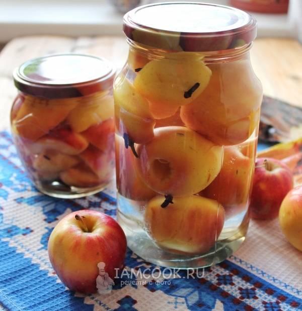 Маринованные яблоки в банках без стерилизации – ароматная закуска