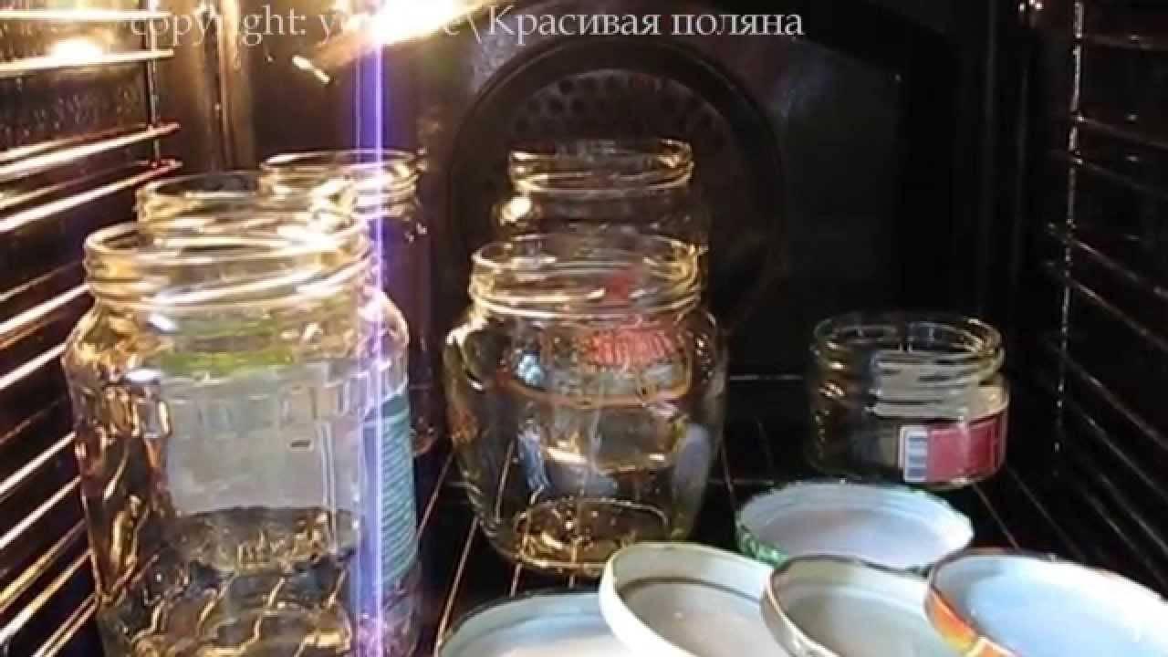 Как правильно стерилизовать крышки и банки для варенья на зиму в микроволновке