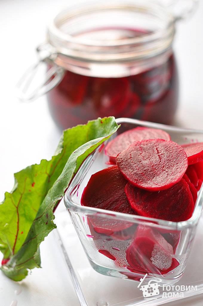 7 пошаговых рецептов маринованной свеклы для холодника на зиму