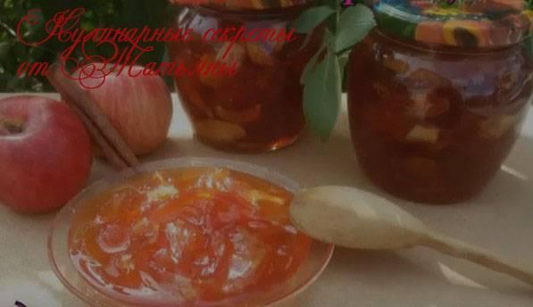 Топ 10 рецептов приготовления варенья-пятиминутки из яблок на зиму