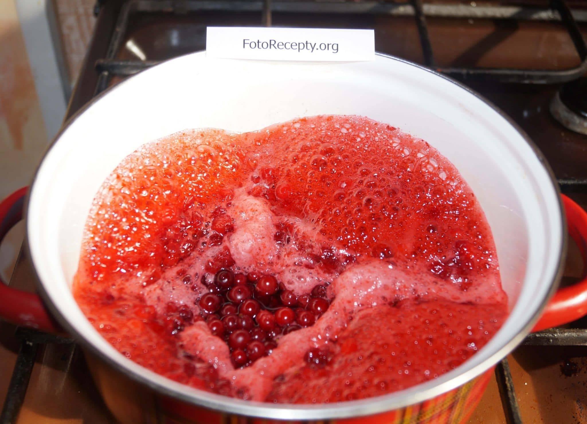 Джем из брусники на зиму рецепты. пошаговый рецепт «пятиминутка» варенья из брусники на зиму