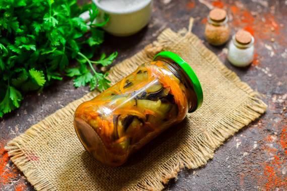 Блюда из баклажанов на зиму — 6 рецептов с пошаговым фото