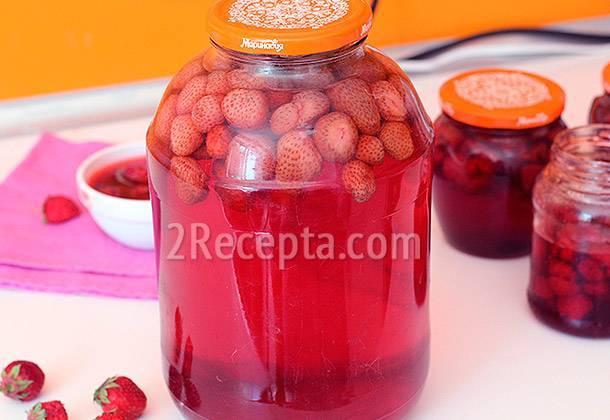Топ 9 рецептов приготовления компота из кизила и яблок на зиму