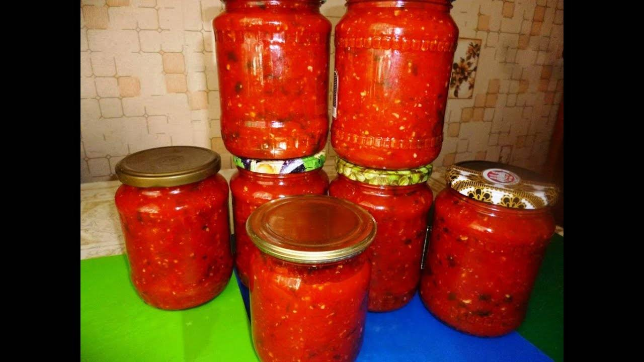 2 лучших рецепта приготовления аджики с кинзой и помидорами