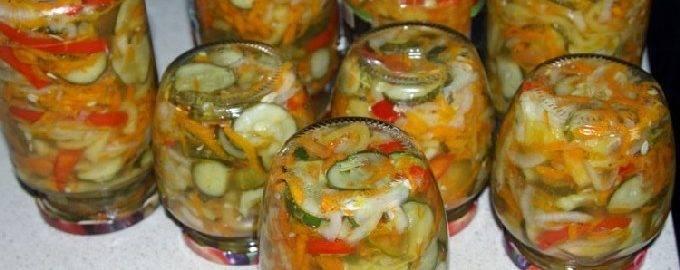 Овощной рататуй на сковороде