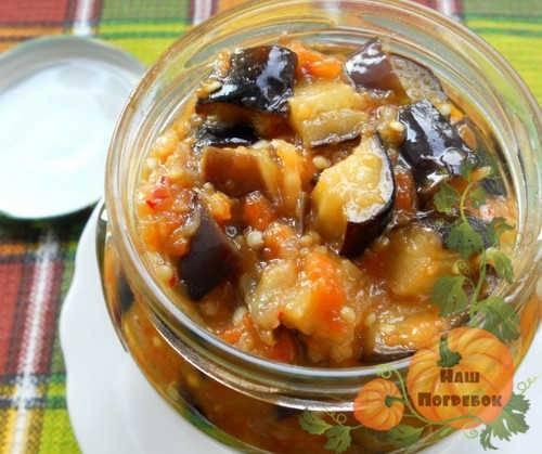 ТОП 3 пошаговых рецепта маринованных баклажанов целиком на зиму