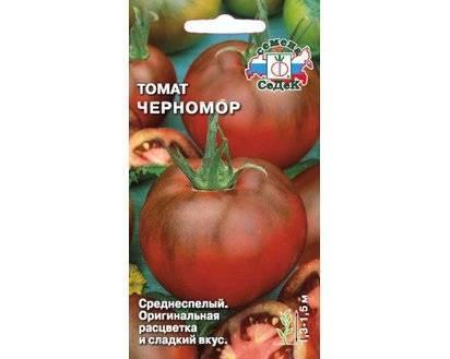 Обзор томата сорта черномор – его описание и правила выращивания